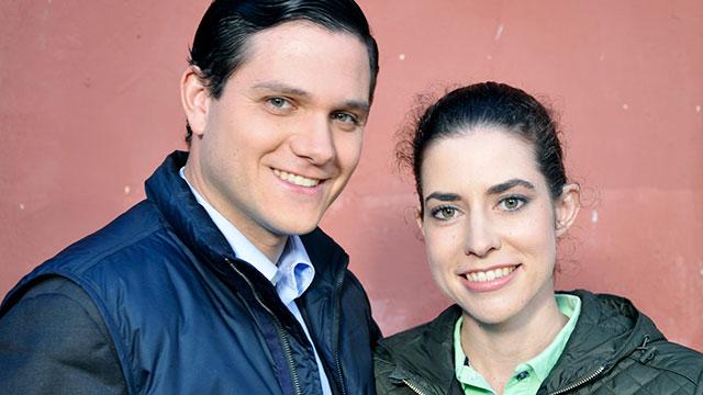 Roland Bircher und Adrienne Suvada