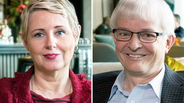 Silvia Aeschbach und Markus Müller