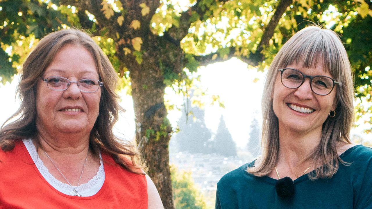Esther und Irene Widmer