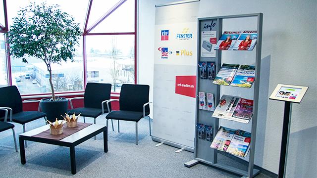 Eingangsbereich von ERF Medien