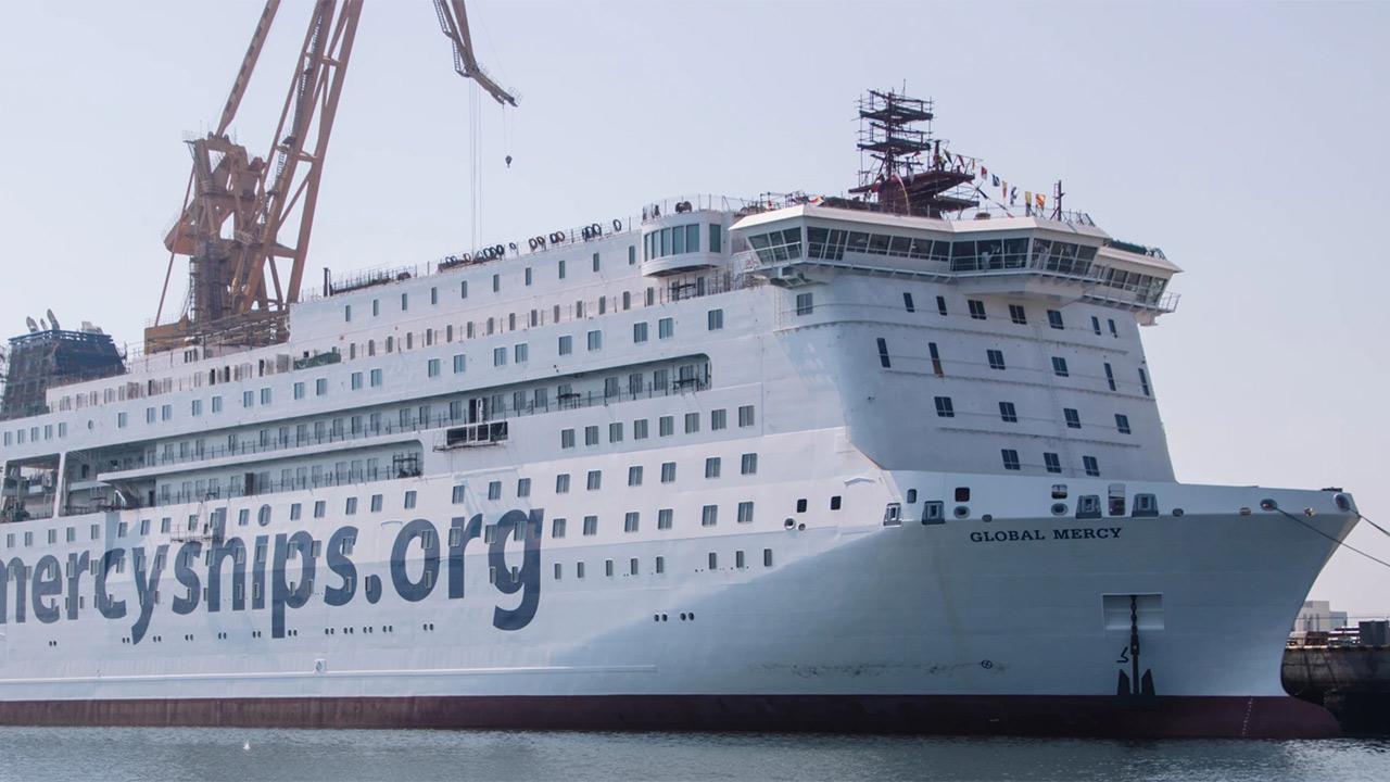 Das neue Schiff «Global Mercy»
