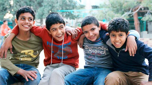 Gehörlose Kinder in Jordanien