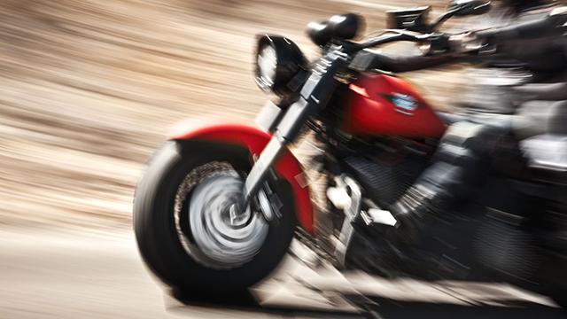 Biker auf Harley-Davidson | (c) 123rf