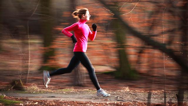 Herbstliches Fitnesstraining