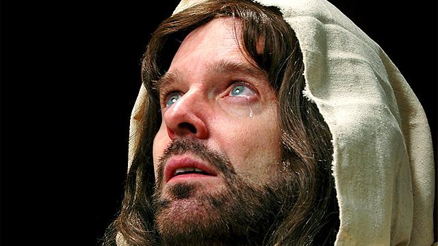 Jesus weint