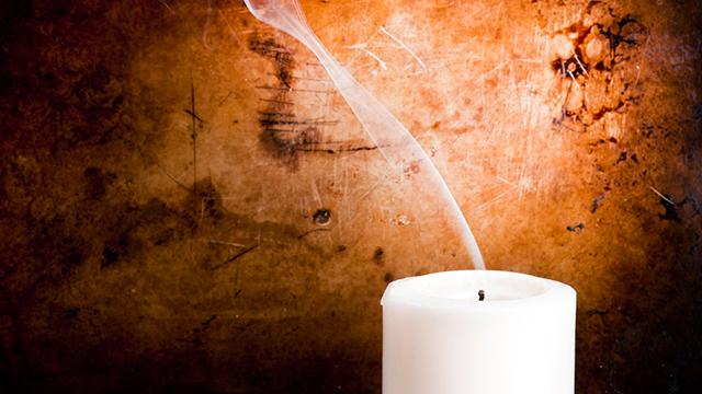 Ausgelöschte Kerze
