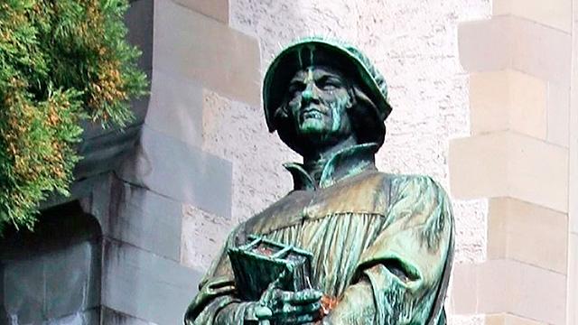 Der Zürcher Reformator Ulrich Zwingli   (c) 123rf